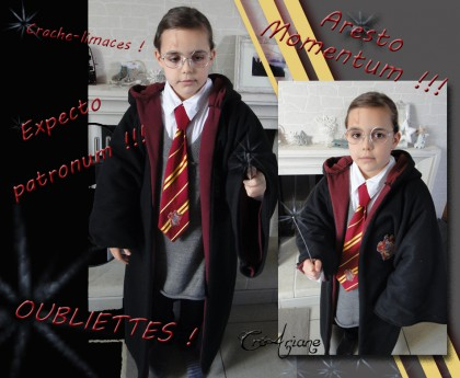 harry potter, déguisement, cape, carnaval, couture