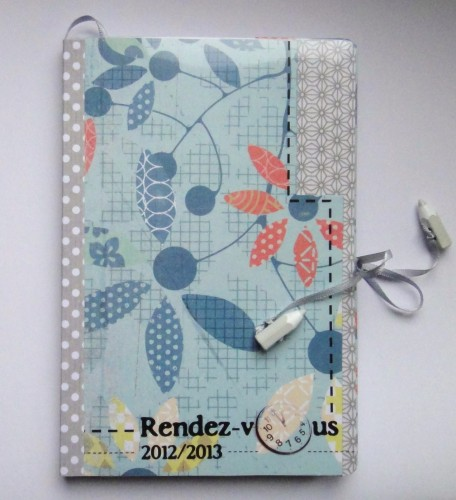 scrap', agenda, masking tape, customisation