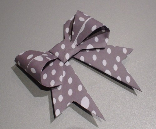 origami, ribbon, bow