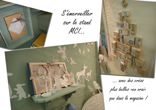 Stand MCI, salon, creation et savoir-faire, 2011